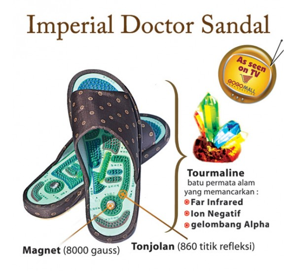 Imperial Dr. Sandal Twinpack (2 pasang)