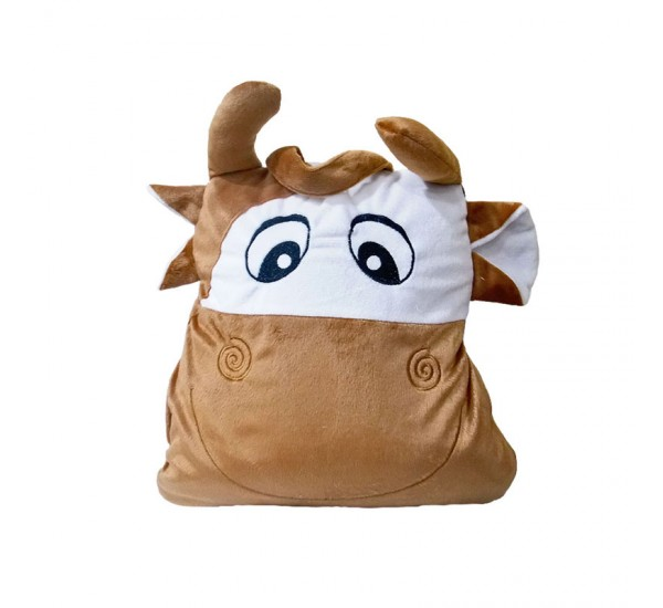 BALMUT GOOD SLEEP TRAVEL COW - Bantal Selimut