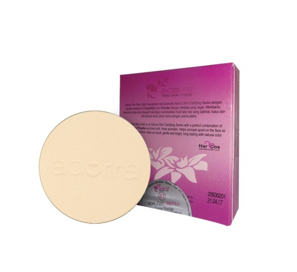 Adorra Two Way Cake Clear Beige Refill