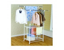 Liveo Double Pole Clothes Hanger LV728
