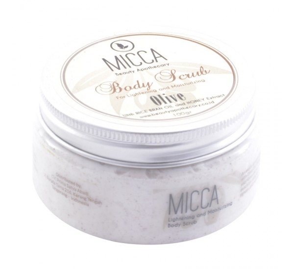 Micca Beauty Apothecary Body Scrub Olive