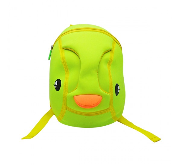 Tas Lino Kids Backpack-Duck Style Green