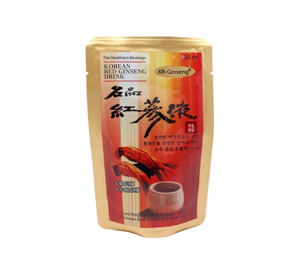 Korean Red Gingseng Drink - Ekstrak Murni Korea Gingseng Merah