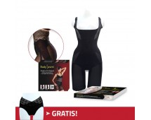 PAKET LEBARAN - VShape Bodysuit + Body Secret
